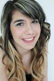 Portrait des jugendlich Mädchens Lizenzfreie Stockfotografie