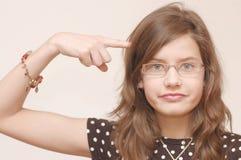 Portrait des Jugendlichen Stockfotografie