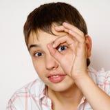 Portrait des Jungen lizenzfreie stockfotografie