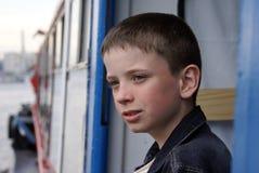 Portrait des Jungen Stockfoto