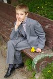 Portrait des Jungen Stockfotografie