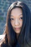 Portrait des jungen asiatischen Mädchens Lizenzfreies Stockfoto