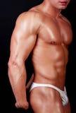 Portrait des jungen Bodybuilders Lizenzfreie Stockbilder