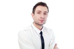 Portrait des jungen Geschäftsmannes Stockbilder