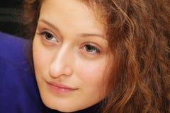 Portrait des jungen Mädchens Stockfoto