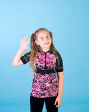 Portrait des jungen Mädchens stockbild