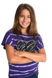 Portrait des jungen Mädchens lizenzfreie stockfotos