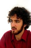 Portrait des jungen Mannes Stockfotografie