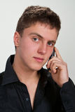 Portrait des jungen Mannes. lizenzfreie stockfotografie