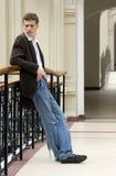 Portrait des jungen Mannes Lizenzfreies Stockfoto