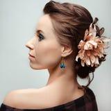 Portrait des jungen schönen Mädchens Lizenzfreie Stockfotografie