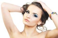 Portrait des jungen schönen Mädchens Stockbild
