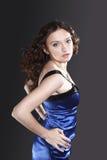 Portrait des jungen Tanzenmädchens Lizenzfreies Stockfoto