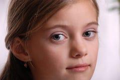 Portrait des Kindes, freundlicher Anblick Lizenzfreies Stockbild