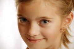Portrait des Kindes, freundlicher Anblick Stockbild