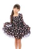 Portrait des kleinen asiatischen Mädchens Stockfotografie