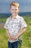 Portrait des kleinen Jungen Lizenzfreies Stockfoto