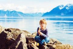 Portrait des kleinen Jungen Lizenzfreie Stockfotografie