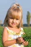 Portrait des kleinen Mädchens Stockfotos