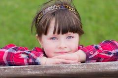Portrait des kleinen Mädchens lizenzfreie stockbilder