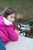 Portrait des kleinen Mädchens Stockfoto