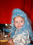 Portrait des kleinen Mädchens. Stockfoto