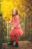 Portrait des kleinen Mädchens Stockbilder
