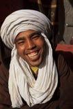 Portrait des lächelnden Berber-Mannes Stockbild
