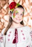 Portrait des lächelnden Mädchens lizenzfreie stockfotografie
