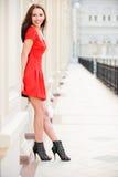Portrait des lächelnden Mädchens Lizenzfreie Stockfotos