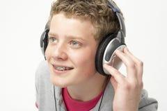 Portrait des lächelnden Teenagers Stockfotografie