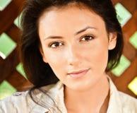 Portrait des Mädchenabschlusses oben lizenzfreie stockfotos