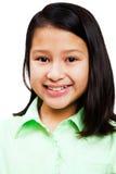 Portrait des Mädchenlächelns Stockbilder