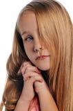 Portrait des Mädchens stockfotografie