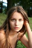 Portrait des Mädchens lizenzfreie stockbilder