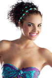 Portrait des Mädchens im Sommerbikini Stockfoto