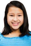 Portrait des Mädchenlächelns Stockfotos