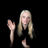 Portrait des Mädchens Stockfoto