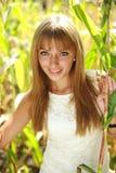 Portrait des netten jungen Mädchens lizenzfreie stockfotos