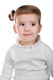 Portrait des netten kleinen Mädchens Lizenzfreies Stockfoto
