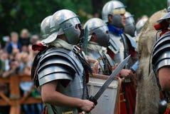 Portrait des personnes dans des costumes historiques Photos libres de droits