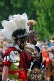 Portrait des personnes dans des costumes historiques Photo libre de droits