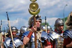 Portrait des personnes dans le costume historique Images stock