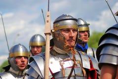 Portrait des personnes dans le costume historique Image libre de droits