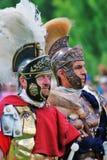 Portrait des personnes dans le costume historique Image stock