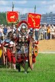 Portrait des personnes dans le costume historique Images libres de droits