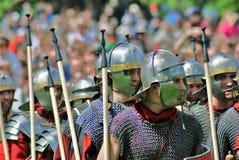 Portrait des personnes dans le costume historique Photo libre de droits