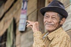 Portrait des personnes de Toraja Image stock