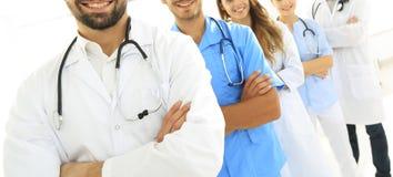 Portrait des principaux membres du centre médical Photo stock