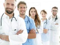 Portrait des principaux membres du centre médical Photographie stock